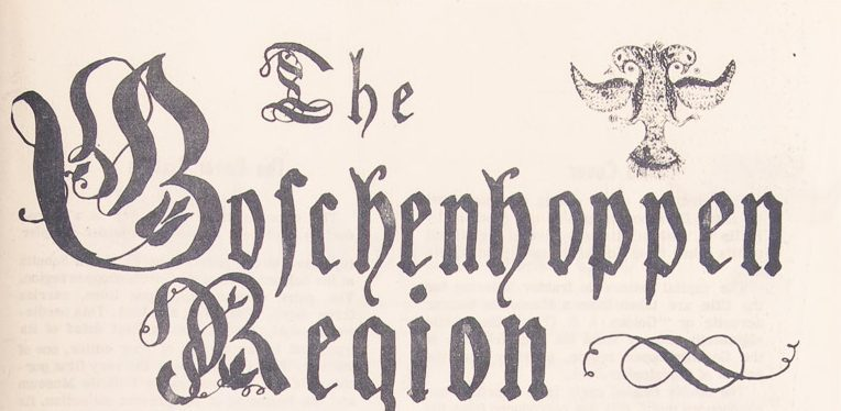 Welcome to the Blog of the Goschenhoppen Historians